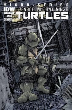 TEENAGE MUTANT NINJA TURTLES MICRO SERIES TP 01
