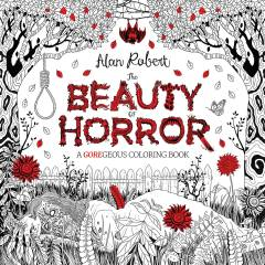 BEAUTY OF HORROR GOREGEOUS COLORING BOOK TP 01