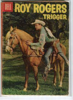 ROY ROGERS AND TRIGGER (DELL)