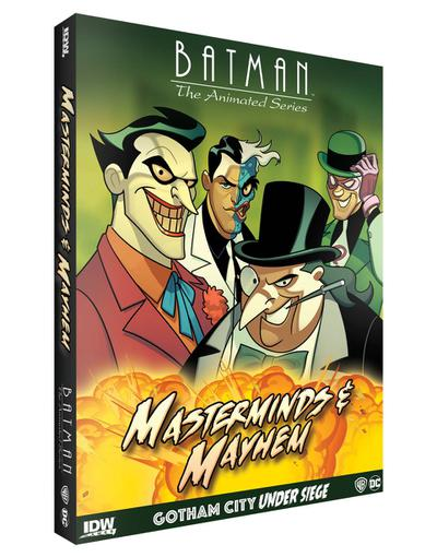 BATMAN ANIMATED SERIES GOTHAM UNDER SIEGE MASTERMINDS MAYHEM