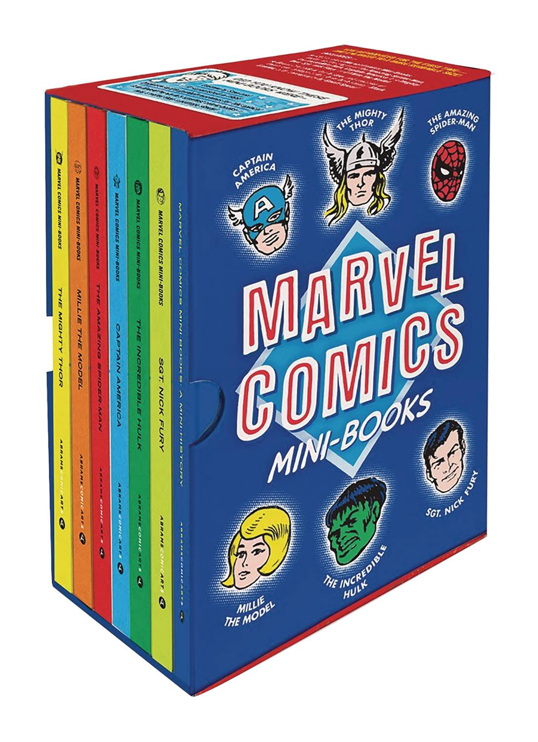 MARVEL COMICS MINI-BOOKS COLLECTIBLE BOXED SET