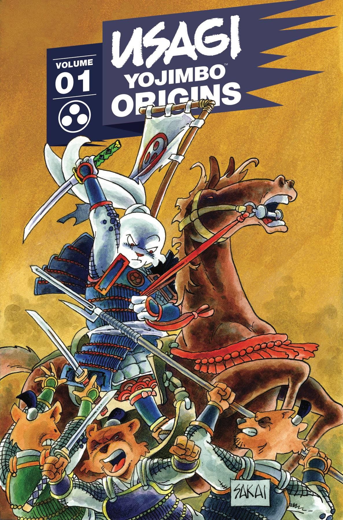 USAGI YOJIMBO ORIGINS TP 01