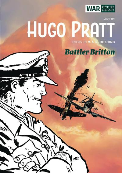 BATTLER BRITTON PRATT WAR PICTURE LIBRARY HC
