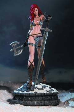 WOMEN DYNAMITE RED SONJA STATUE DIAMOND EYE ED