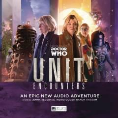 DOCTOR WHO UNIT AUDIO CD SET #5 ENCOUNTERS
