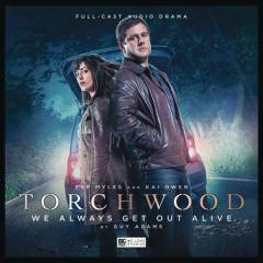 TORCHWOOD THE LAST BEACON ROOM AUDIO CD