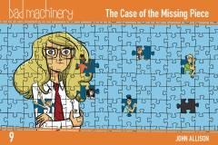 BAD MACHINERY POCKET ED TP 09 CASE OF THE MISSING PIECE
