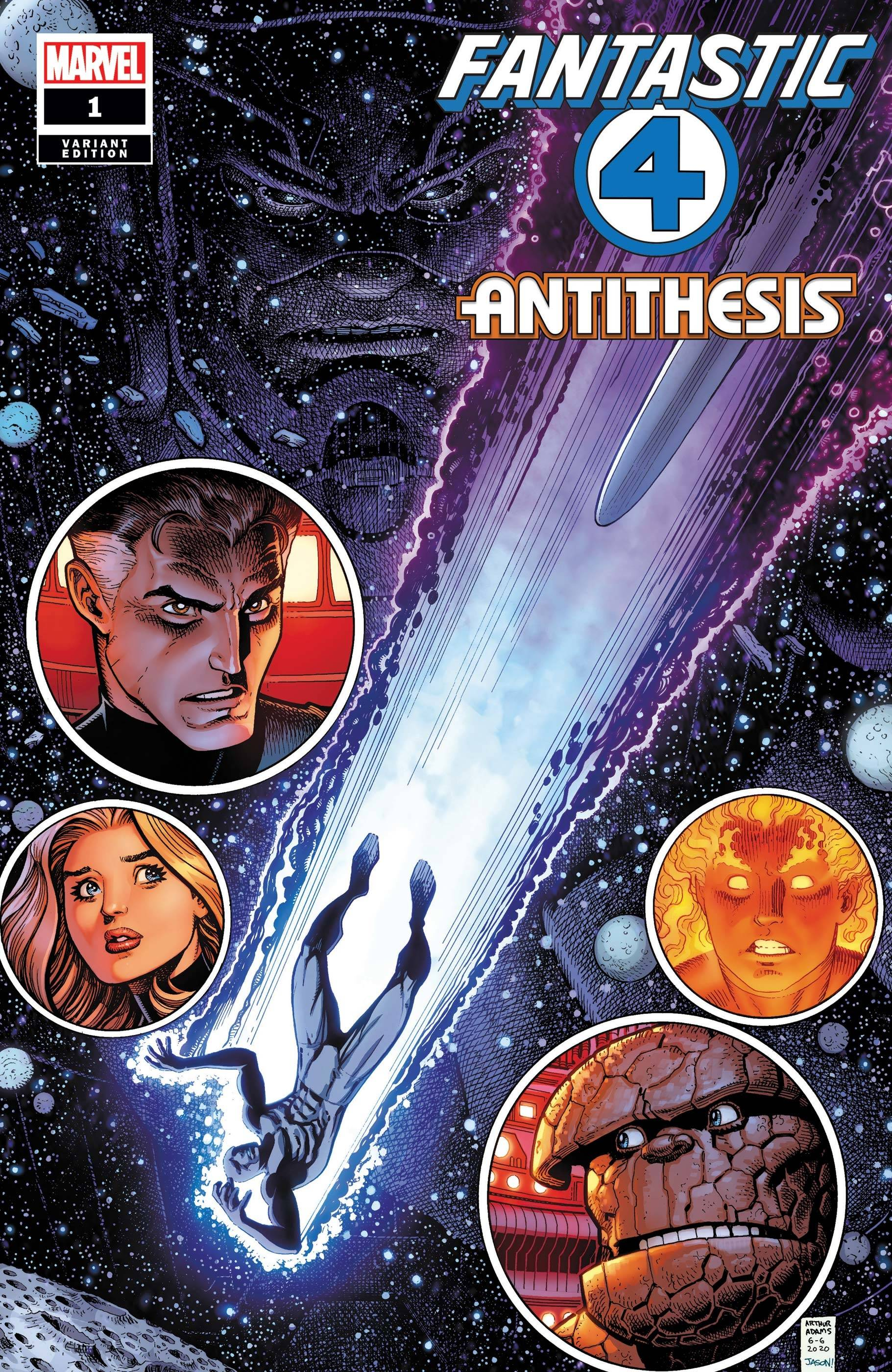 FANTASTIC FOUR ANTITHESIS