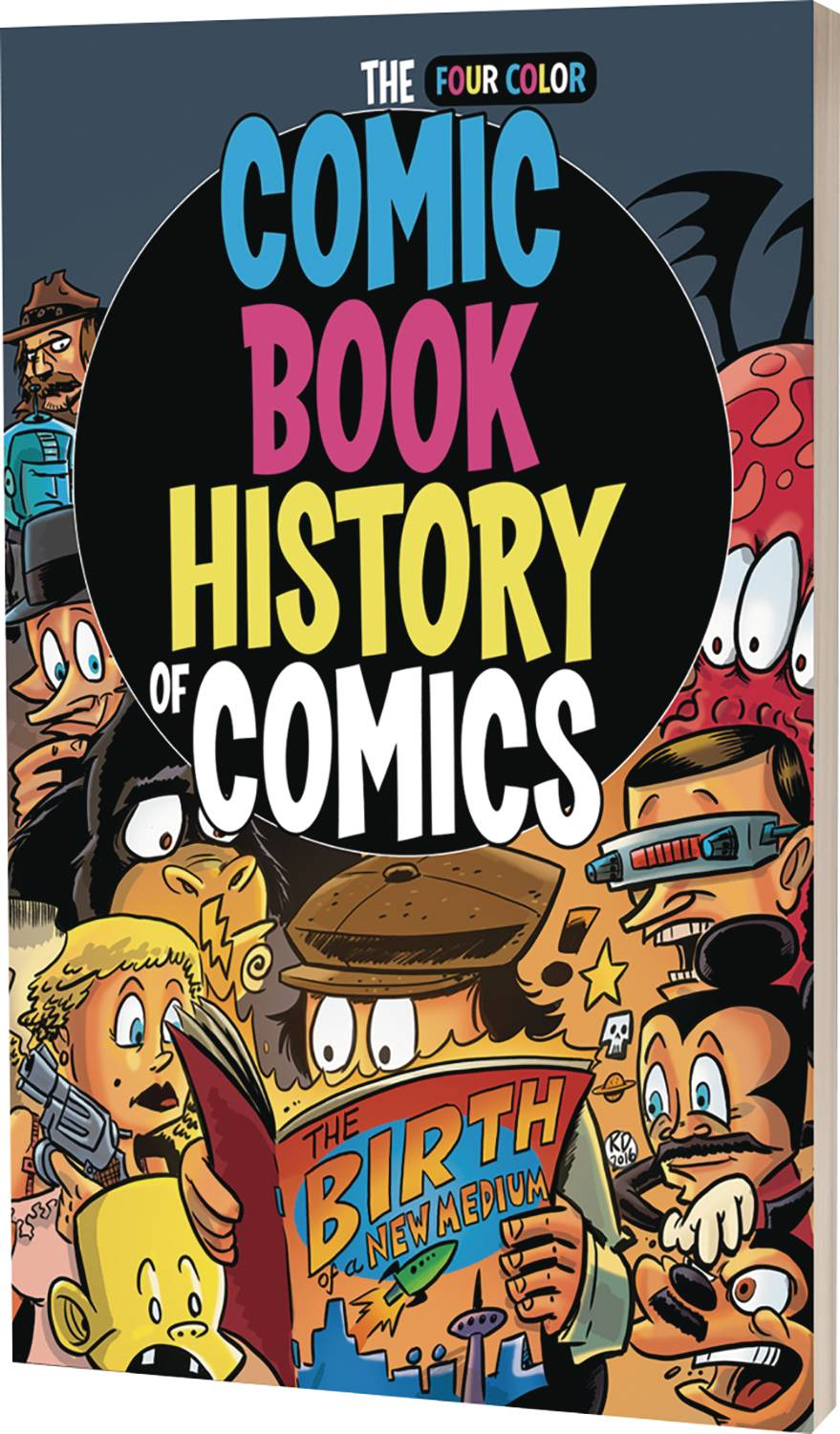 COMIC BOOK HISTORY OF ANIMATION