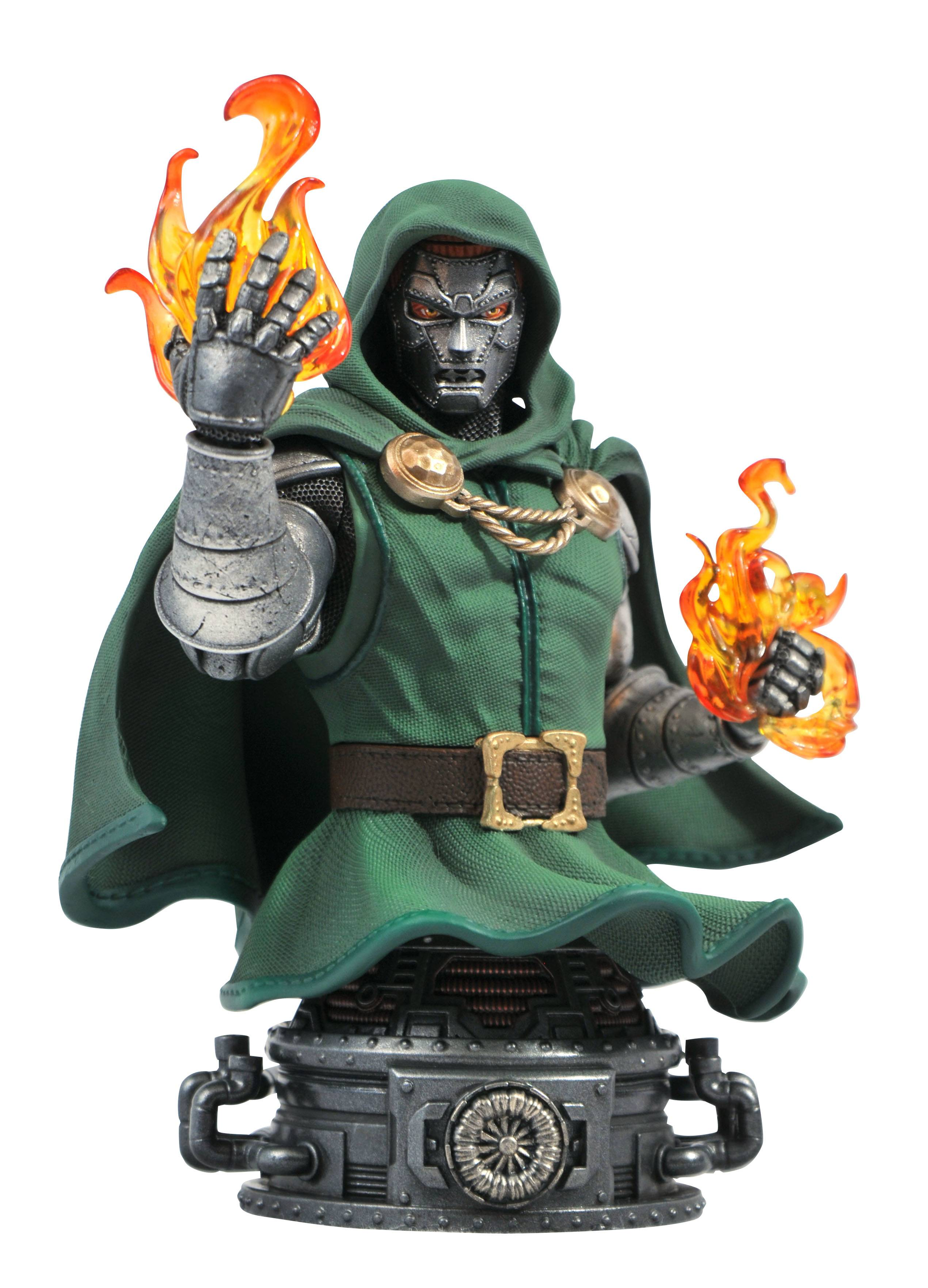 MARVEL COMIC DR DOOM BUST