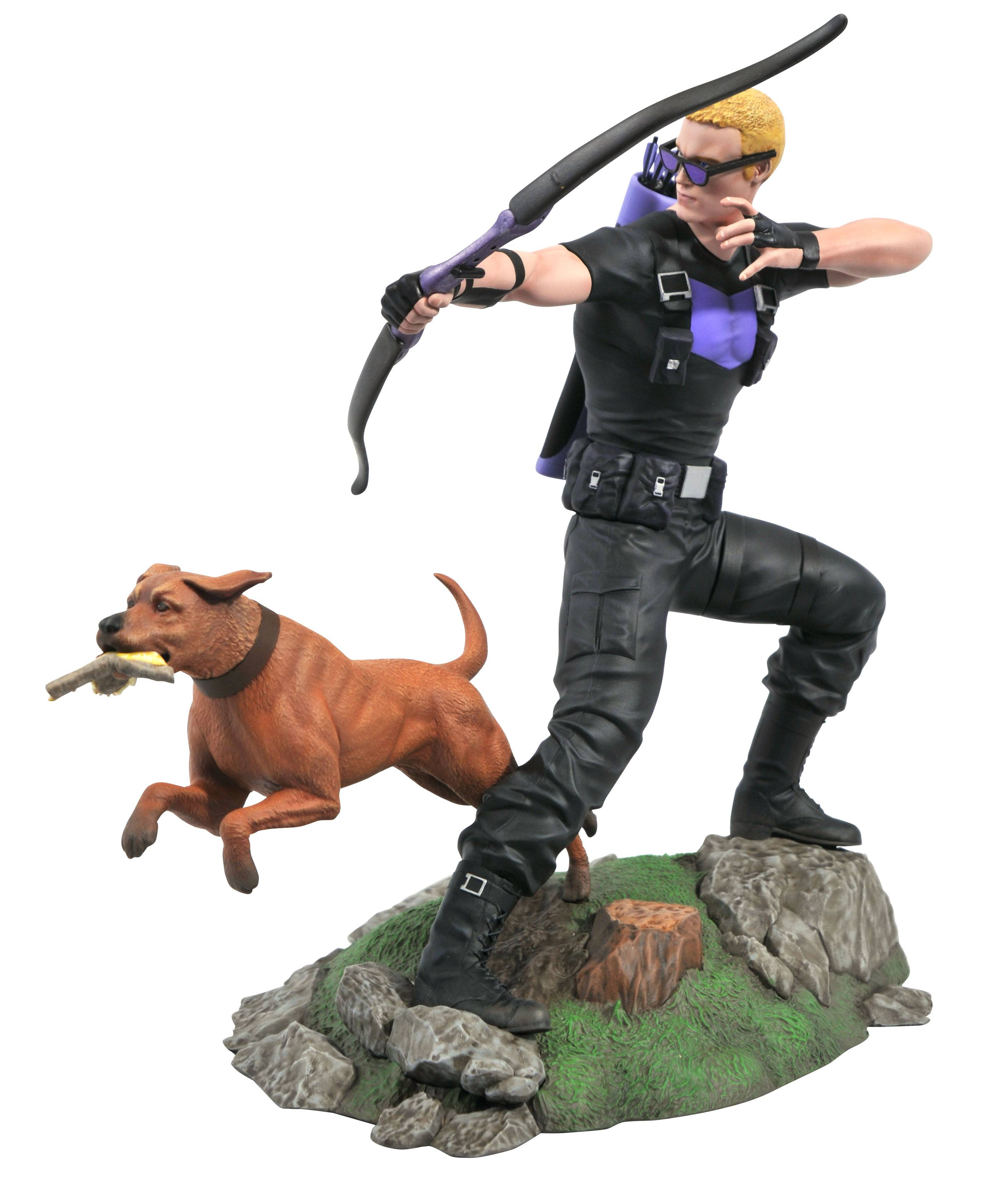 MARVEL GALLERY COMIC HAWKEYE PVC STATUE