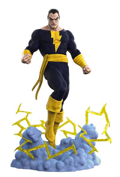 DC GALLERY COMIC BLACK ADAM PVC STATUE