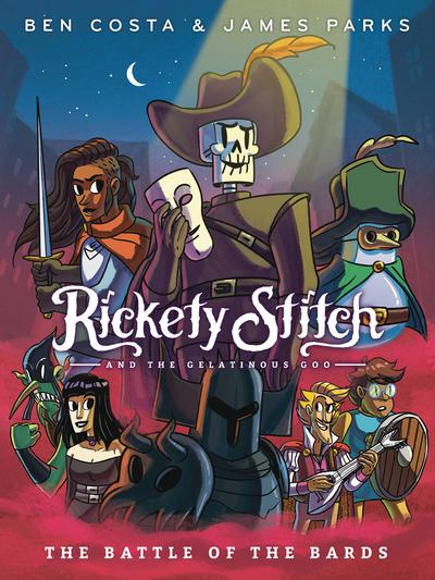 RICKETY STITCH & GELATINOUS GOO TP 03 BATTLE OF BARDS