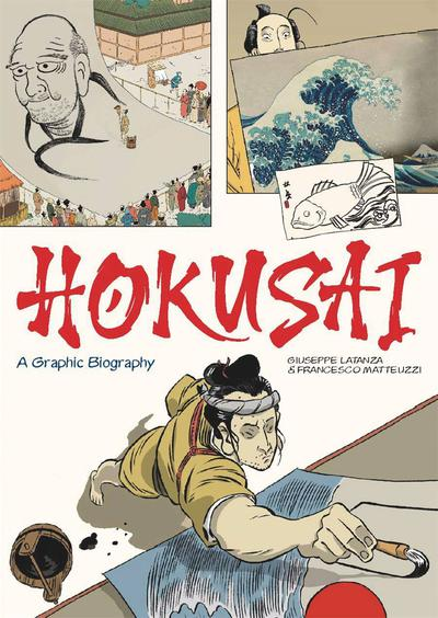 HOKUSAI GRAPHIC BIOGRAPHY TP