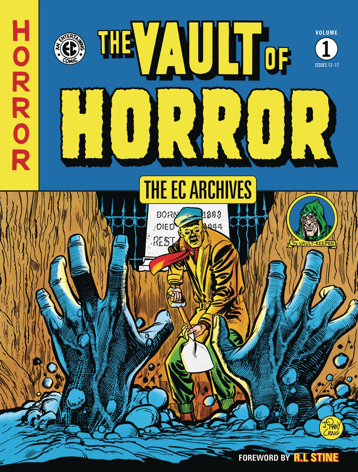 EC ARCHIVES VAULT OF HORROR TP 01