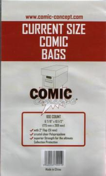 COMIC BAGS CURRENT COMIC CONCEPT Polypropylene