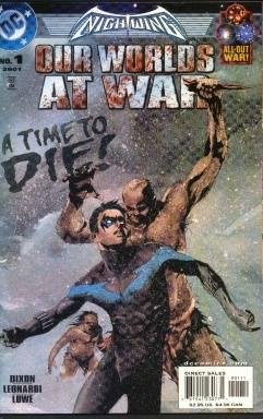 NIGHTWING OUR WORLDS AT WAR