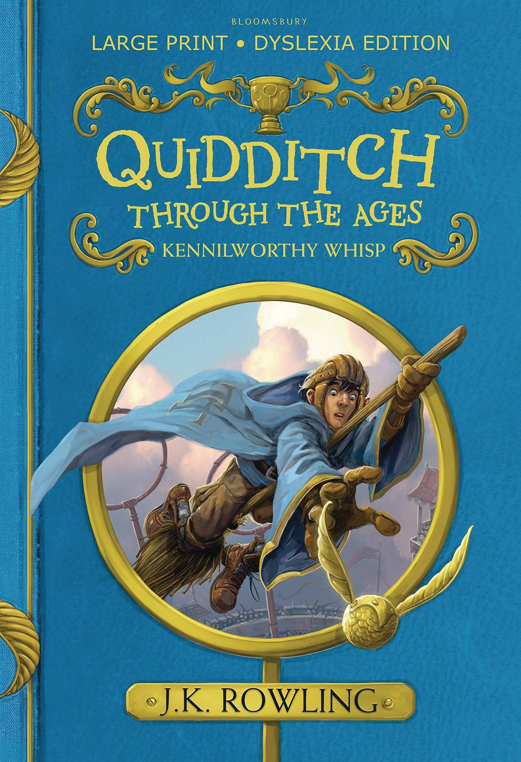 QUIDDITCH THROUGH THE AGES ILLUSTRATED HC