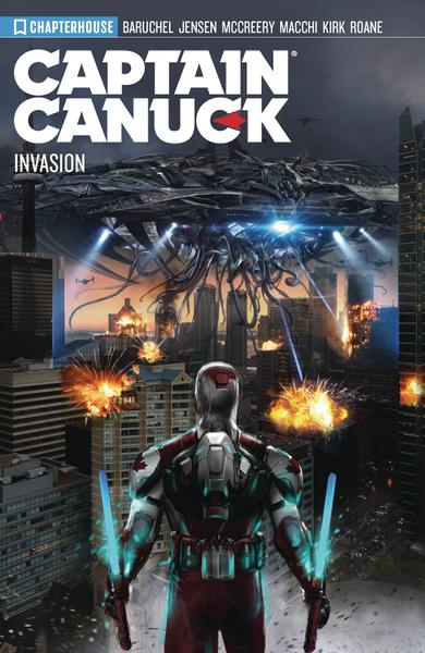 CAPTAIN CANUCK TP 04 SEASON 4 INVASION