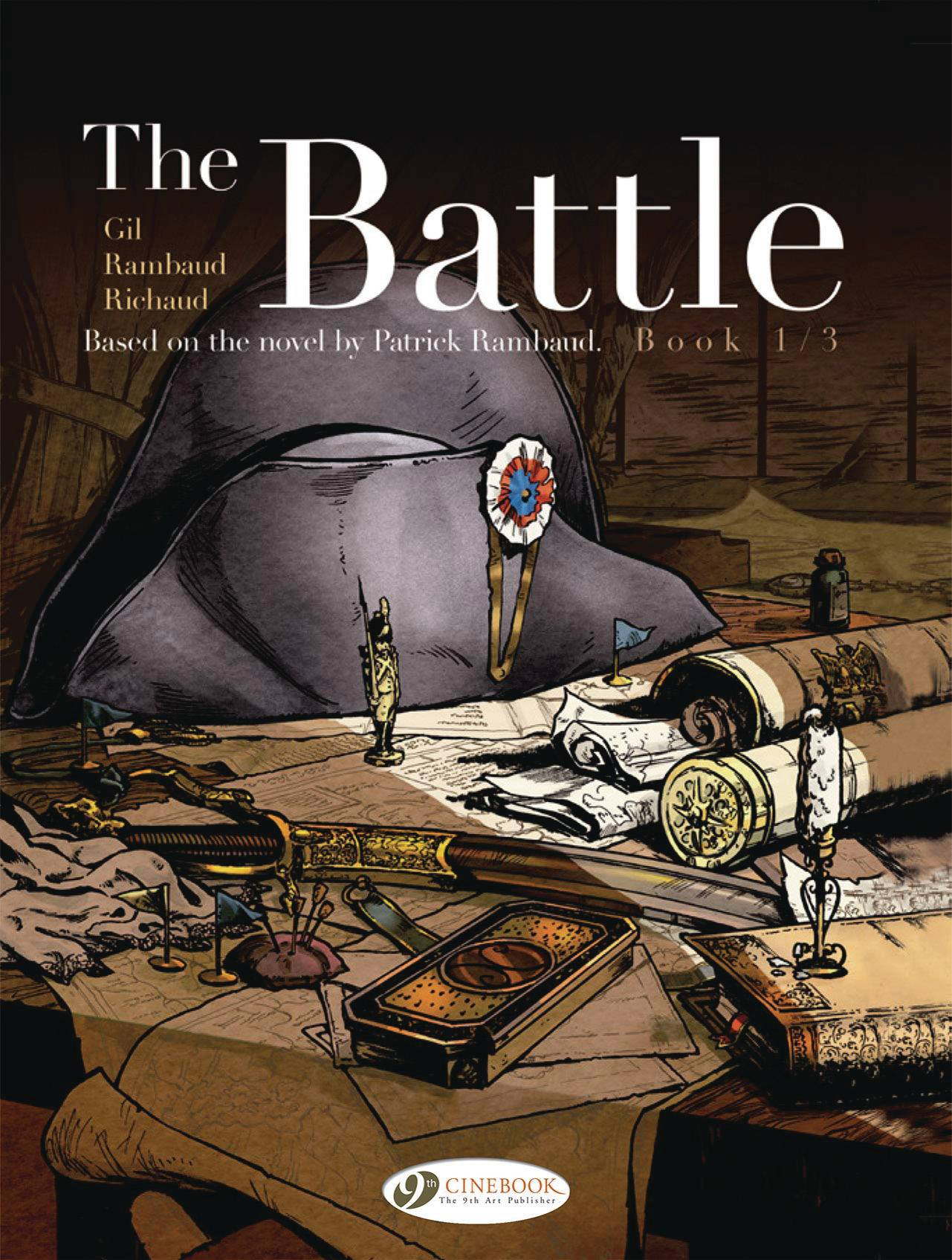 BATTLE BOOK TP 01