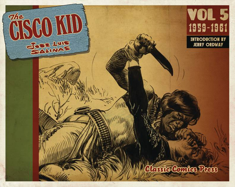 CISCO KID JOSE LUIS SALINAS & REED TP 05 1959-1961