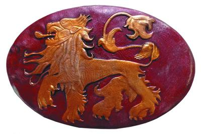 GAME OF THRONES PIN SHIELD LANNISTER