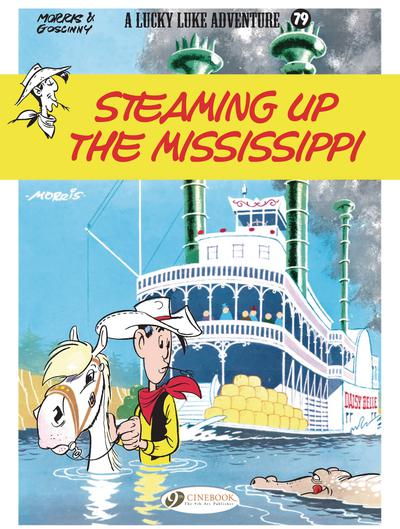 LUCKY LUKE TP 79 STEAMING UP THE MISSISSIPPI