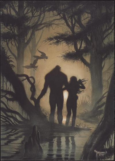 ABSOLUTE SWAMP THING BY ALAN MOORE HC 03
