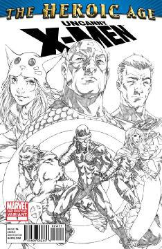 UNCANNY X-MEN HEROIC AGE