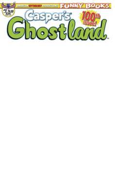 CASPERS GHOSTLAND 100TH ISSUE ANNIVERSARY BLANK SKETCH CVR