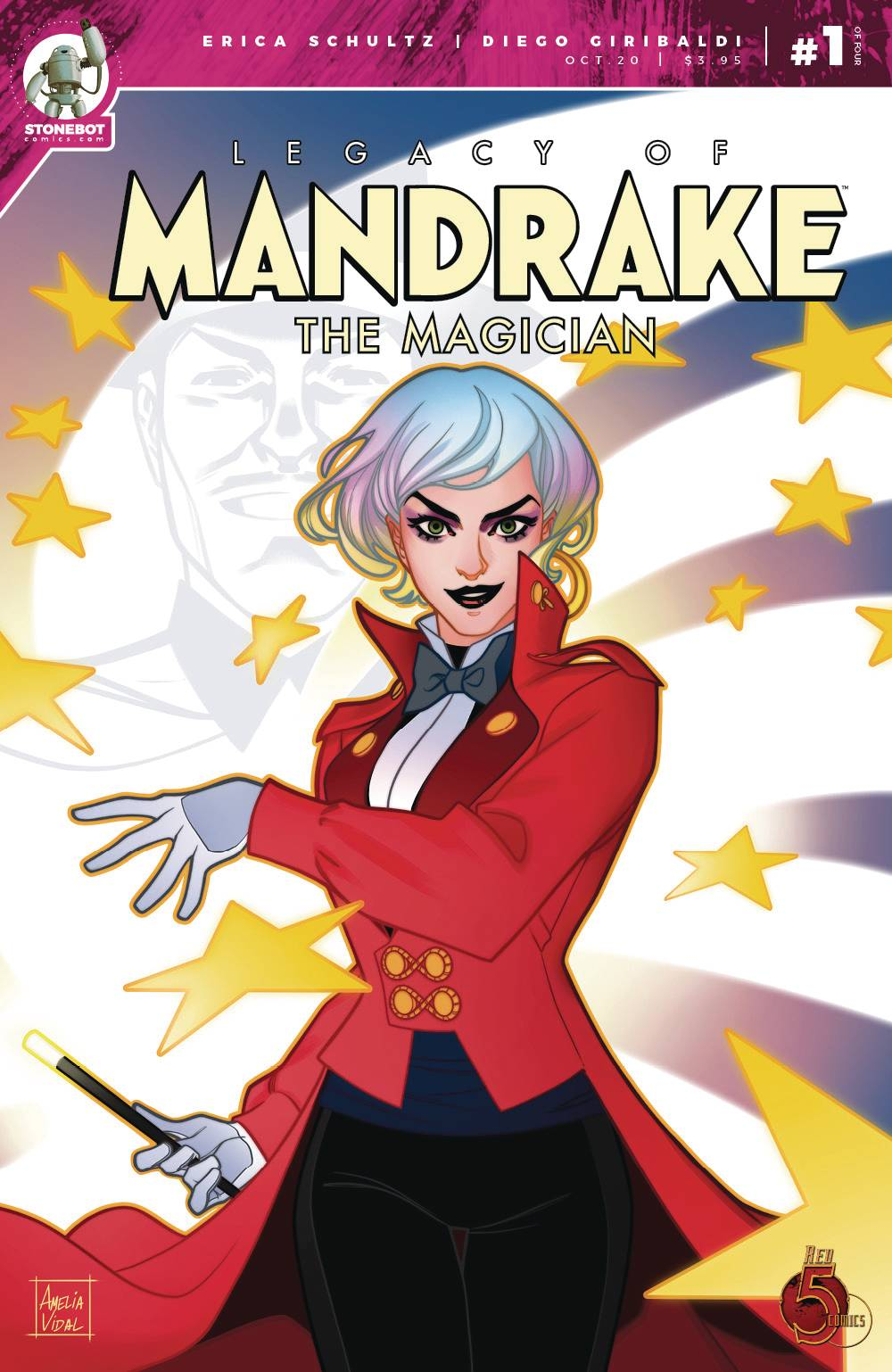 LEGACY OF MANDRAKE THE MAGICIAN