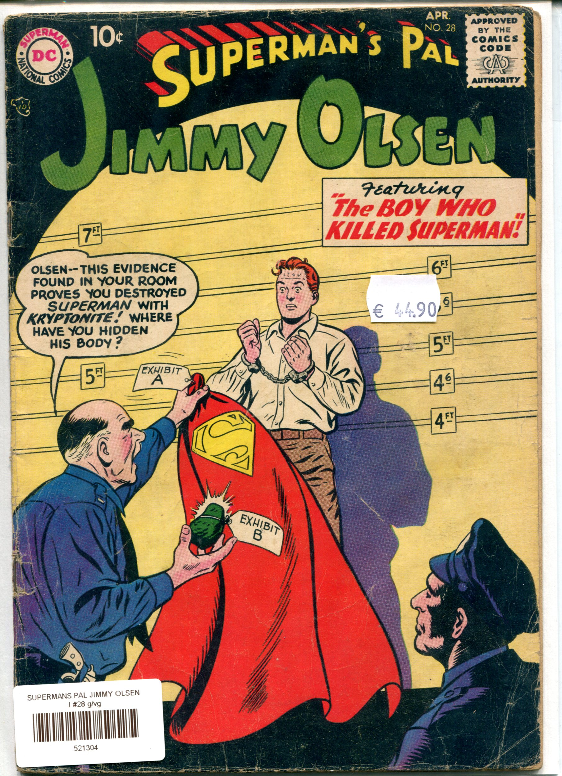 SUPERMANS PAL JIMMY OLSEN I