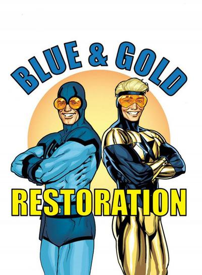 DF BLUE & GOLD #4 JURGENS SGN
