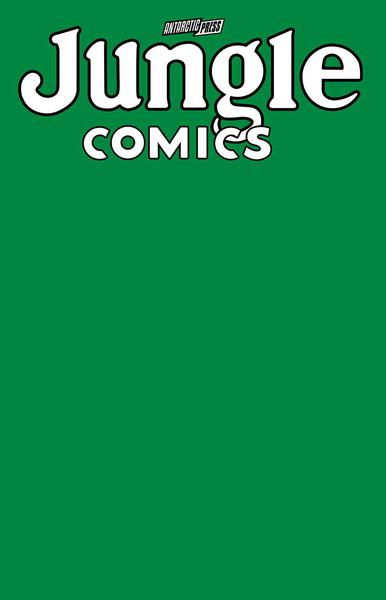 JUNGLE COMICS SKETCHBOOK JUNGLE GREEN EDITION
