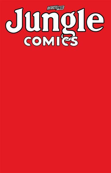 JUNGLE COMICS SKETCHBOOK TIGERS BLOOD EDITION