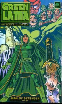 GREEN LAMA MAN OF STRENGTH