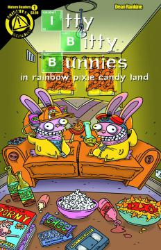 ITTY BITTY BUNNIES RAINBOW PIXIE LAND XMAS