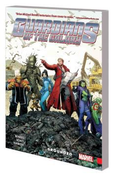 GUARDIANS OF GALAXY NEW GUARD TP 04 GROUNDED