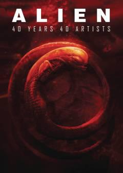 ALIEN 40 YEARS 40 ARTISTS HC