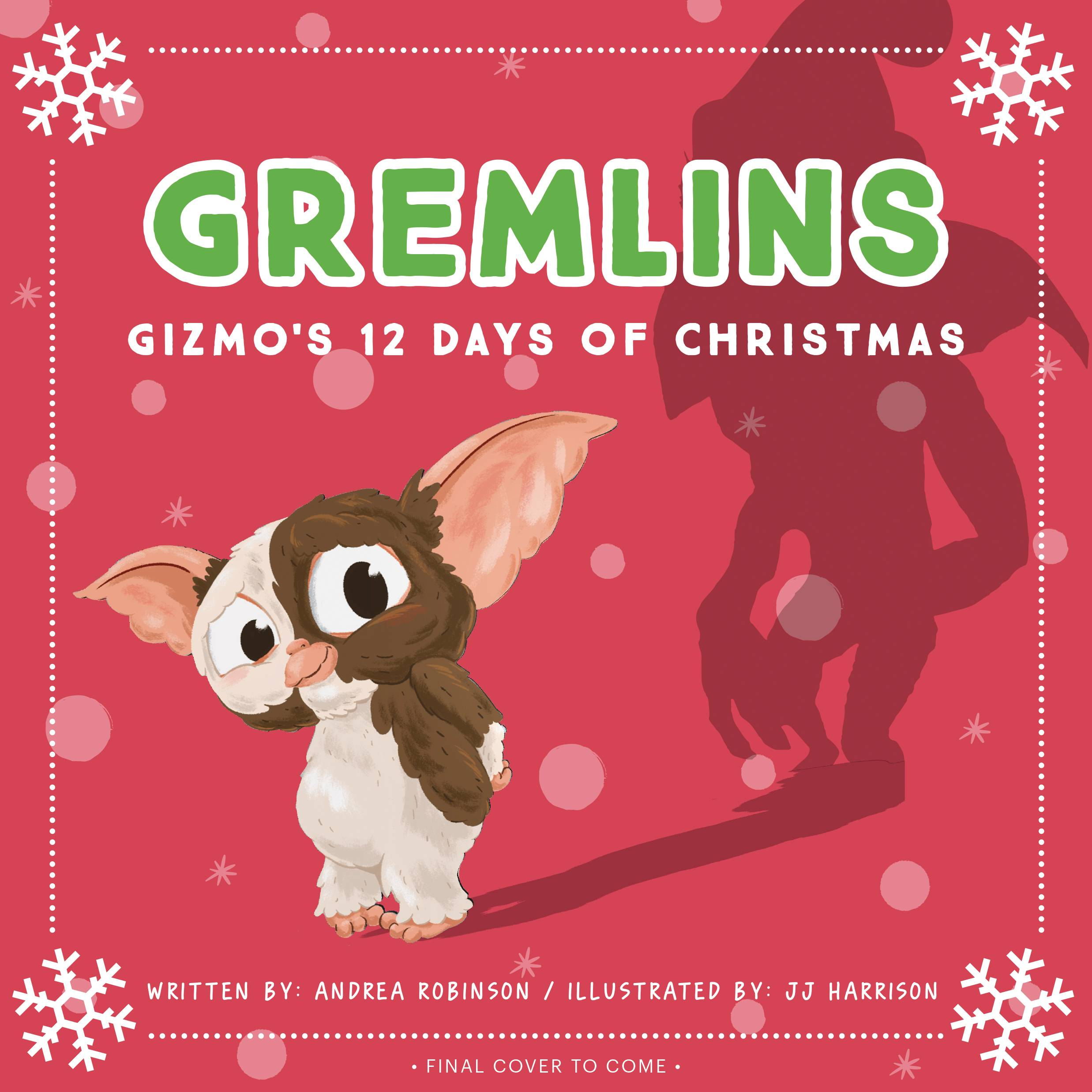 GREMLINS GIZMOS 12 DAYS OF CHRISTMAS BOARD BOOK