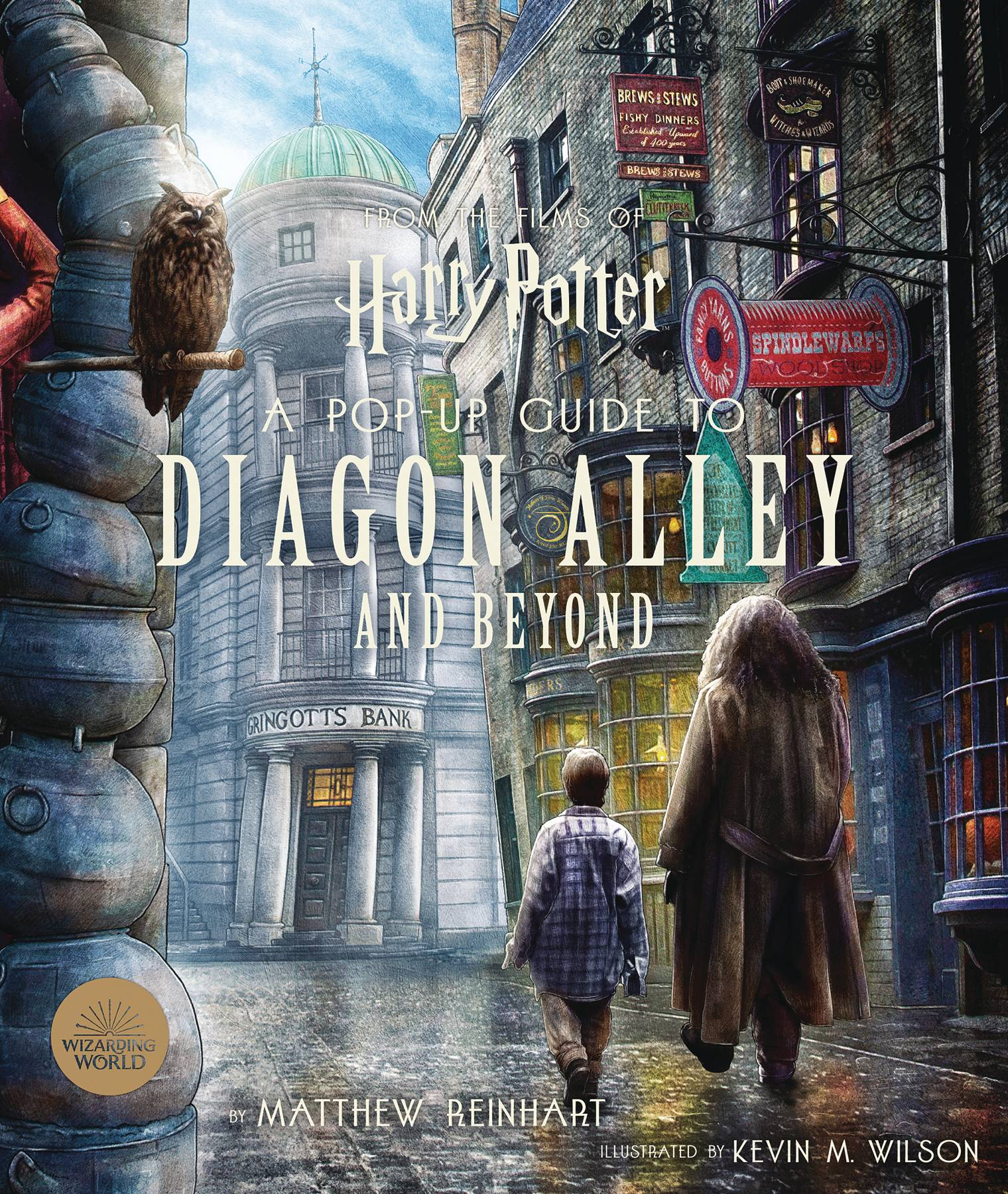 HARRY POTTER POP UP BOOK GUIDE DIAGON ALLEY & BEYOND