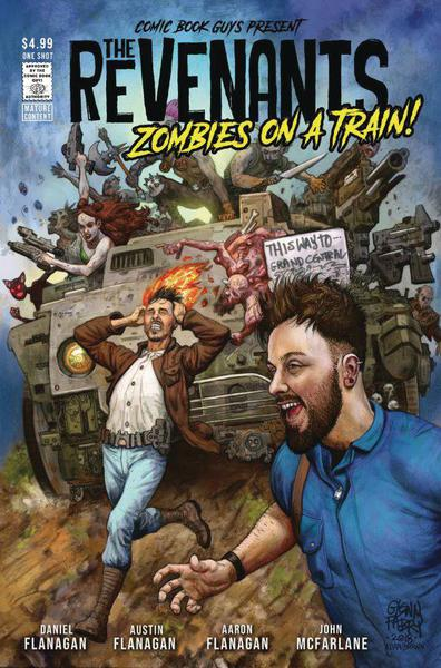 REVENANTS ZOMBIES ON A TRAIN
