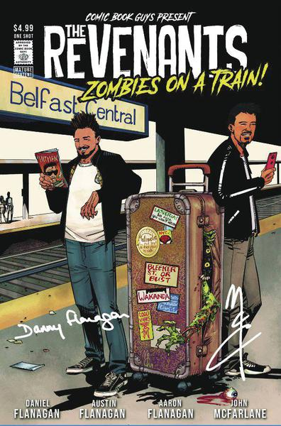 REVENANTS ZOMBIES ON A TRAIN SGN MCCREA CVR