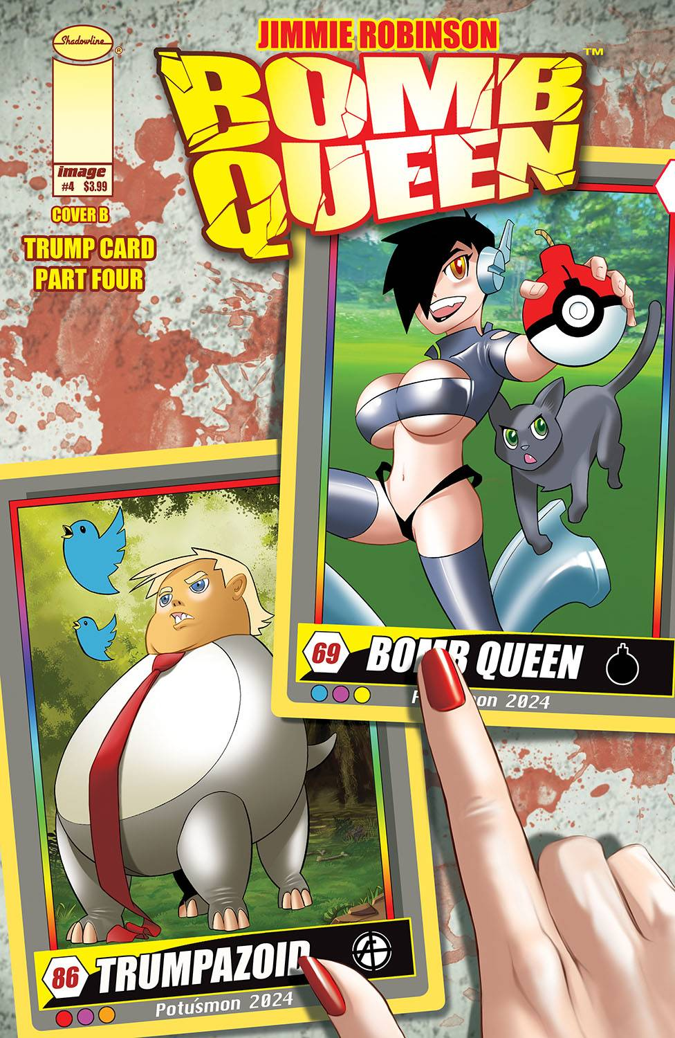 BOMB QUEEN TRUMP CARD