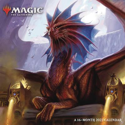 MAGIC THE GATHERING 2022 16 MONTH WALL CALENDAR