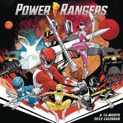 POWER RANGERS 2022 16 MONTH WALL CALENDAR