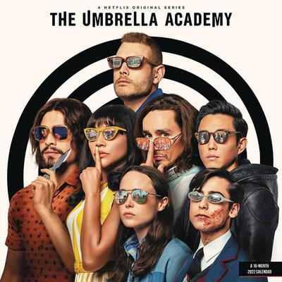 UMBRELLA ACADEMY 2022 WALL CALENDAR