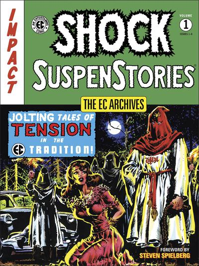EC ARCHIVES SHOCK SUSPENSTORIES TP 01