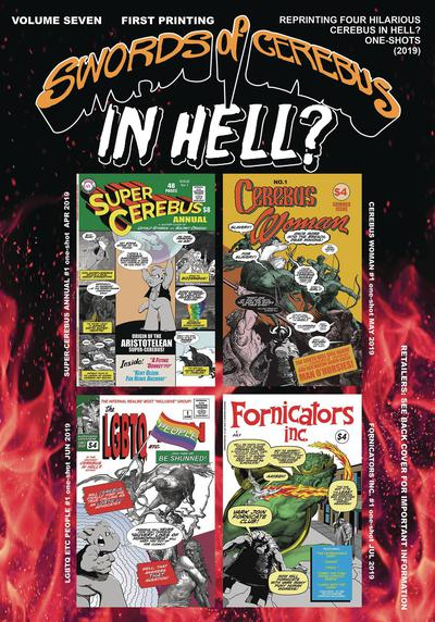 SWORDS OF CEREBUS IN HELL TP 07