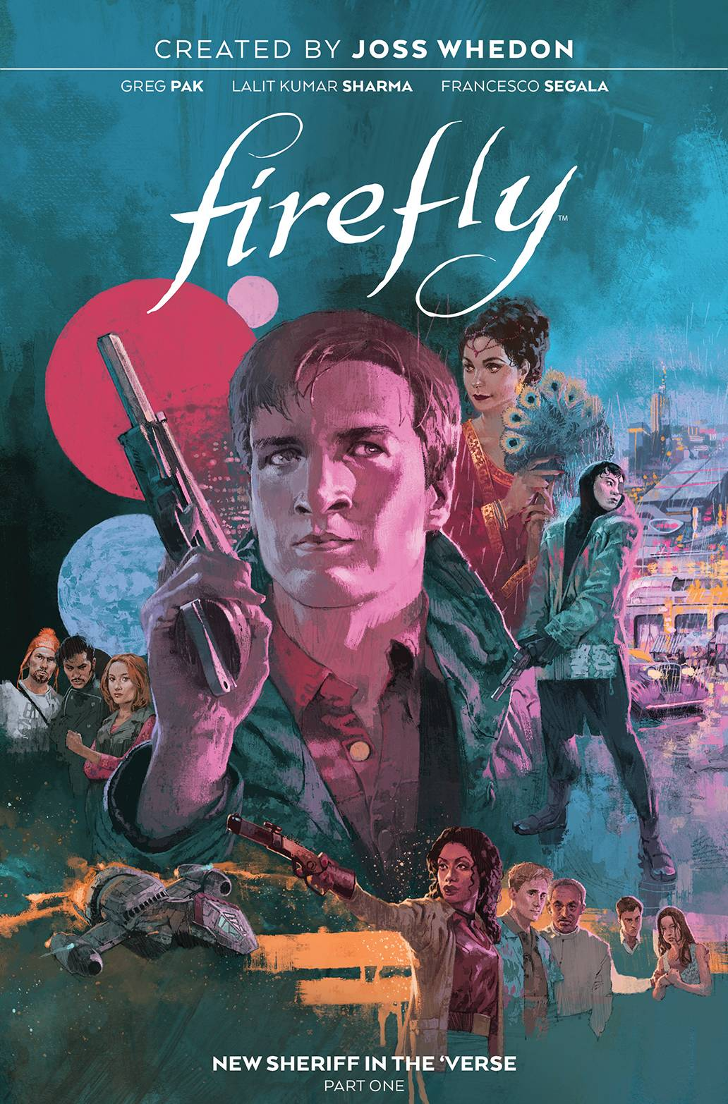 FIREFLY NEW SHERIFF IN VERSE HC 01